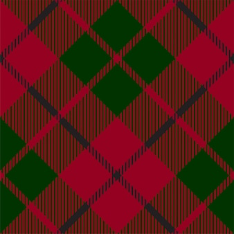 Zielony czerwony kratkę kratę tekstury wzór