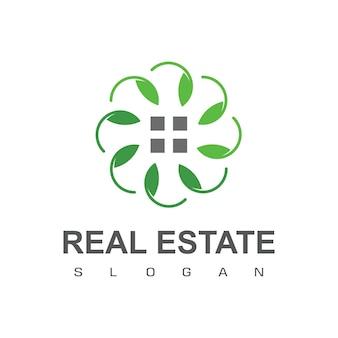 Zielony dom, logo nieruchomości