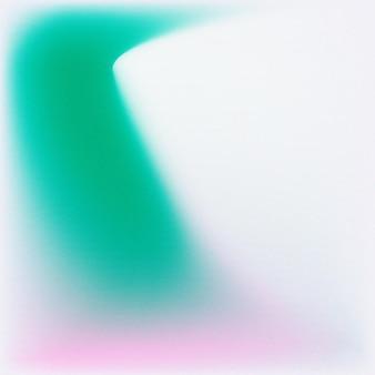 Zielony gradient rozmycia tła