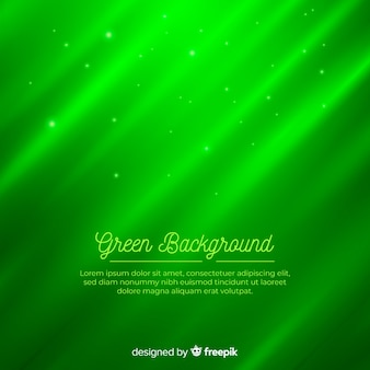 Zielony gradientowy nowożytny abstrakcjonistyczny tło z kształtami