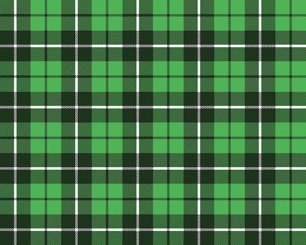 Zielony kratę tkanina tekstura wzór bez szwu