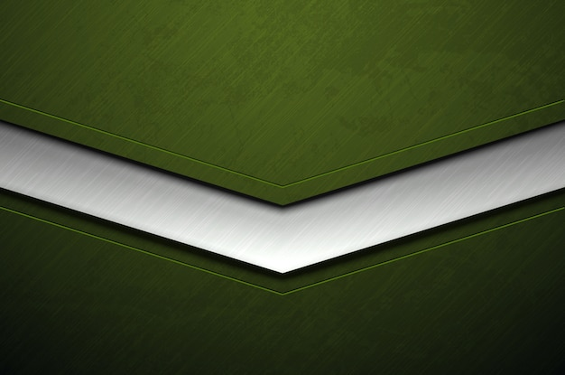 Zielony metalu tło z grunge teksturą