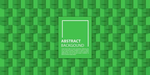 Zielony papier 3d styl tło