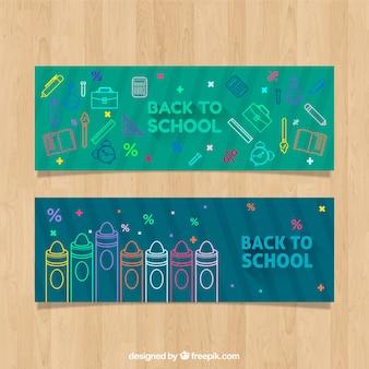 Zielony powrót do szkolnych banerów internetowych