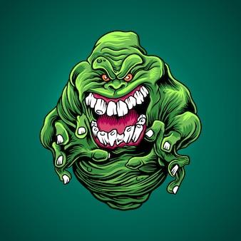Zielony szlam