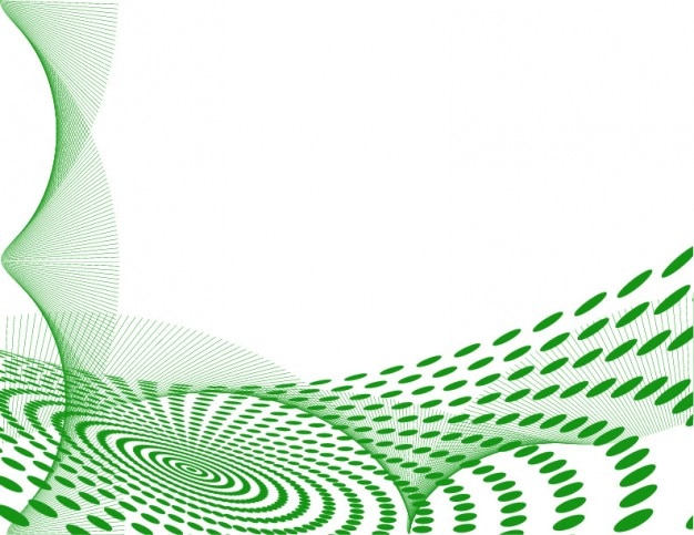 Zielonym perspektywy dots abstrakcyjne tło z copyspace