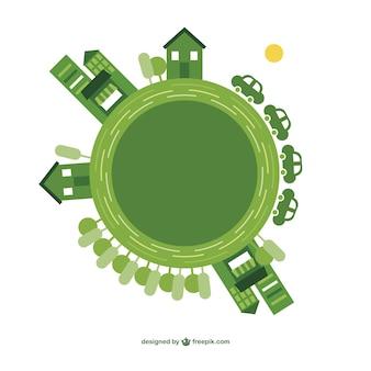 Ziemia dzień ekologia wektor