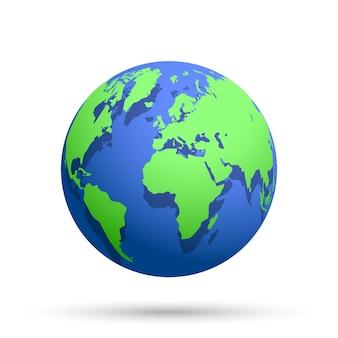 Ziemia Globe Premium Wektorów