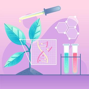 Zilustrowano laboratorium biotechnologii gradientowej