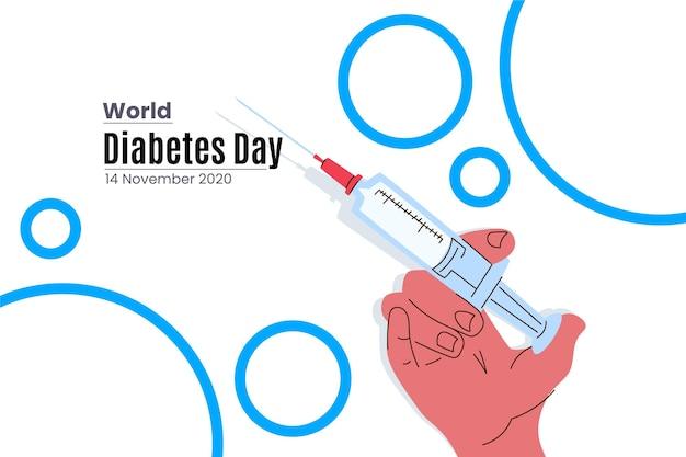 Zilustrowano światowy dzień cukrzycy