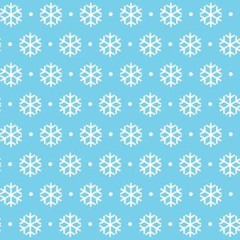 Zima boże narodzenie nowy rok wzór. piękna tekstura z płatkami śniegu ilustracja wektorowa eps10