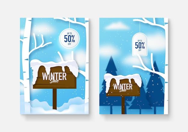 Zima boże narodzenie sprzedaż okładka wzór tła. ilustracja wektorowa. kolekcja abstrakcyjnych wzorów tła, zimowa wyprzedaż, treści promocyjne w mediach społecznościowych.