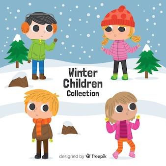 Zimowa kolekcja dziecięca