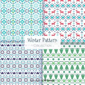 Zimowa kolekcja wzorów