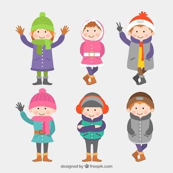 Zimowe dzieci