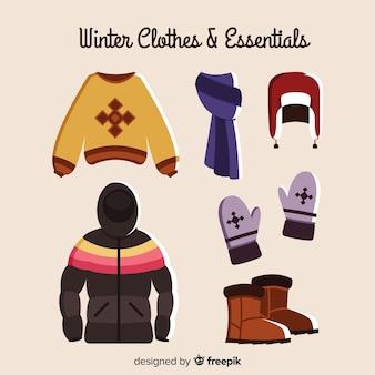 Zimowe ubrania i niezbędne rzeczy