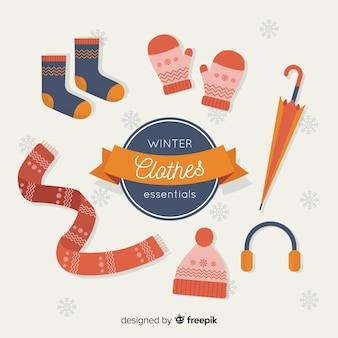 Zimowe ubrania niezbędne