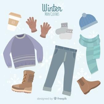 Zimowe ubranie