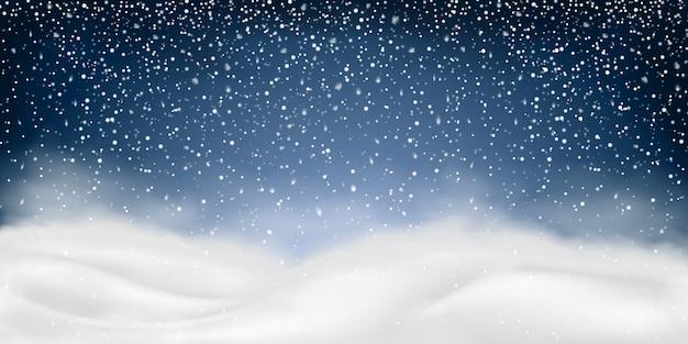 Zimowy krajobraz.