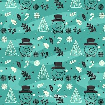 Zimowy wzór