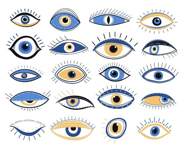Złe oko ustawione