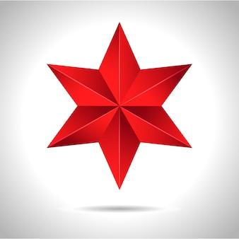 Złota czerwona gwiazda
