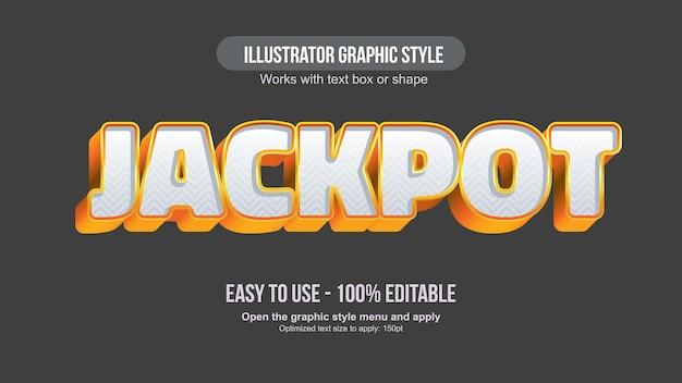 Złota i biała dekoracyjna typografia 3d