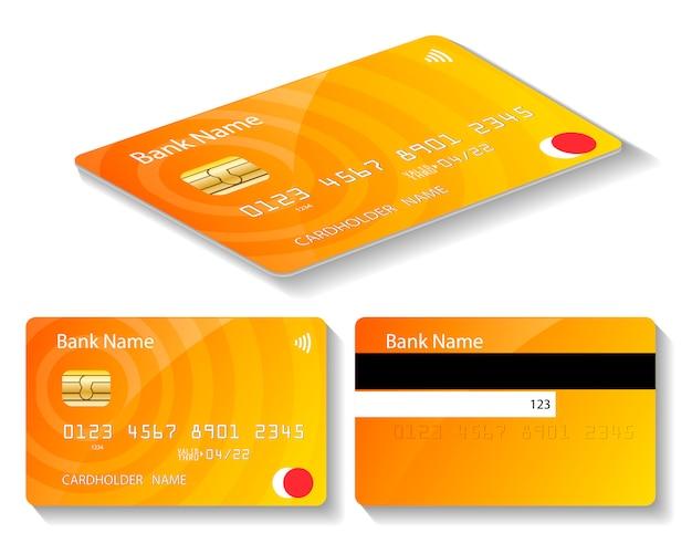 Złota karta bankomatowa dla banku