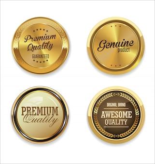 Złota kolekcja etykiet