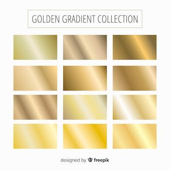 Złota kolekcja gradientu