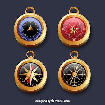 Złota kolekcja kompasu