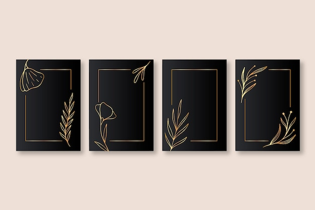 Złota kolekcja okładek botanicznych