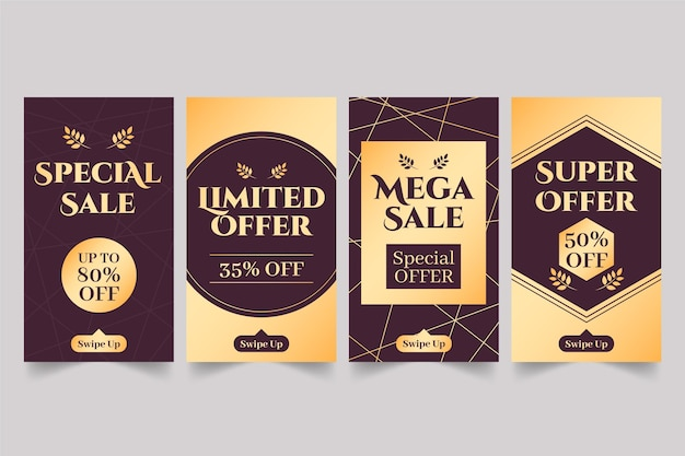 Złota oferta sprzedaży w mediach społecznościowych
