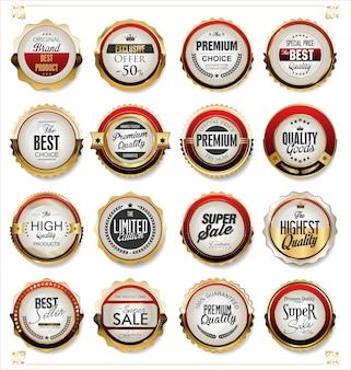 Złote etykiety