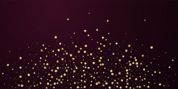 Złote gwiazdki luksusowe musujące konfetti.