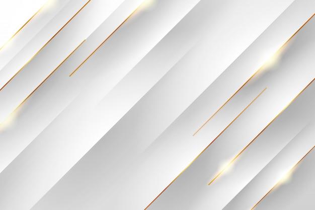Złote i białe tło. abstrakcjonistyczny złoty i biały tło. minimalistyczne streszczenie złote i białe tło.