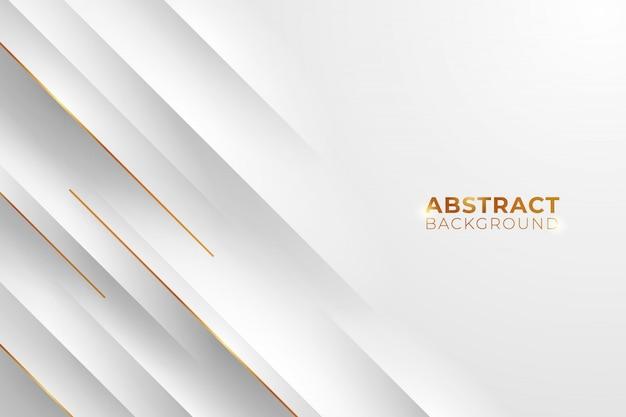 Złote i białe tło. abstrakcjonistyczny złoty i biały tło.