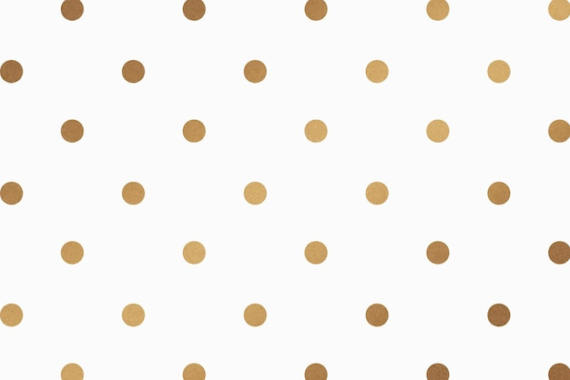 Złote kropki błyszczące tło wzór
