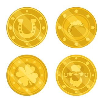 Złote monety świętego patryka