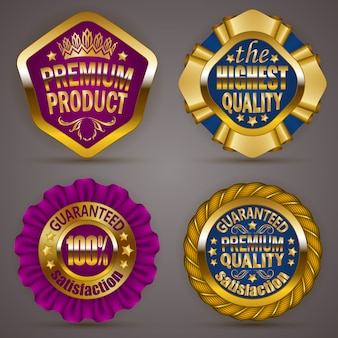 Złote odznaki