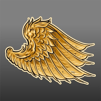 Złote skrzydło