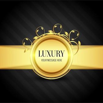 Złote tło luksus