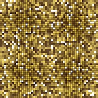 Złote tło musujących cekinów