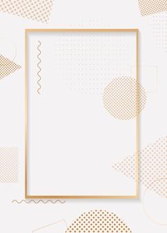 Złote tło ramki
