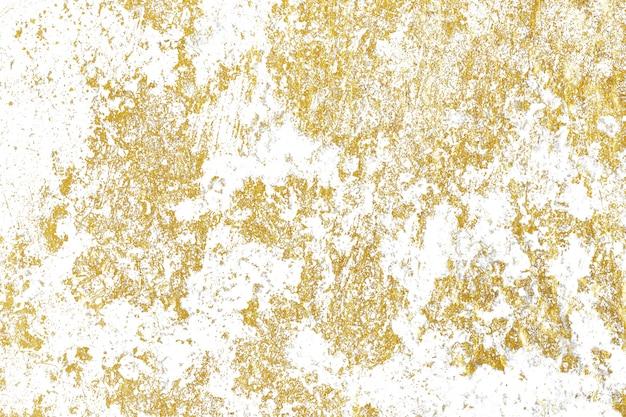 Złoto odpryskuje teksturę.
