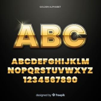Złoty alfabet