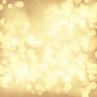 Złoty bokeh streszczenie tło uroczysty.