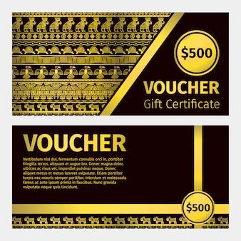 Złoty certyfikat kuponu