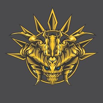 Złoty demon