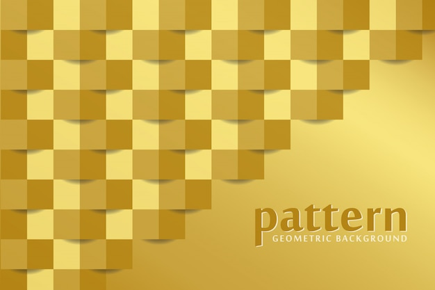 Złoty deseniowy tło